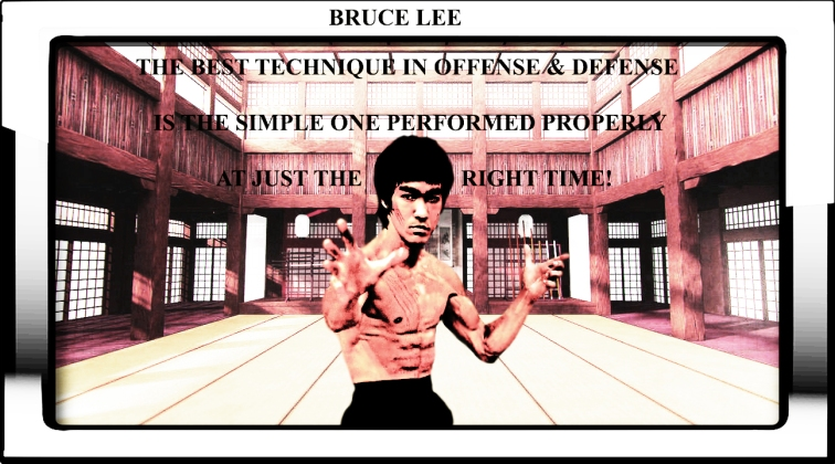 BRUCE LEE SIMPLE ATTACK